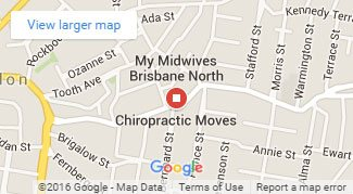 chiropractor brisbane map location
