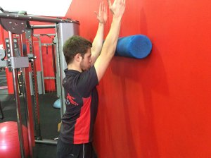 Stability exercise for the shoulder